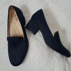 Life Stride Active Arch Mid Heel Loafers NWOT